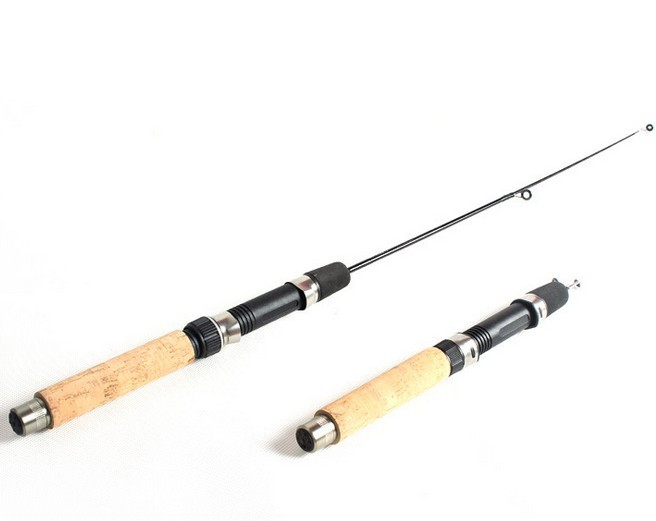 Ice fishing rod short fishing rod 50 cm strong and for Ice fishing rod