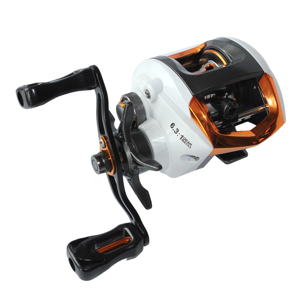 High quality bait casting fishing reel 12 1 ball bearings for Left handed fishing pole