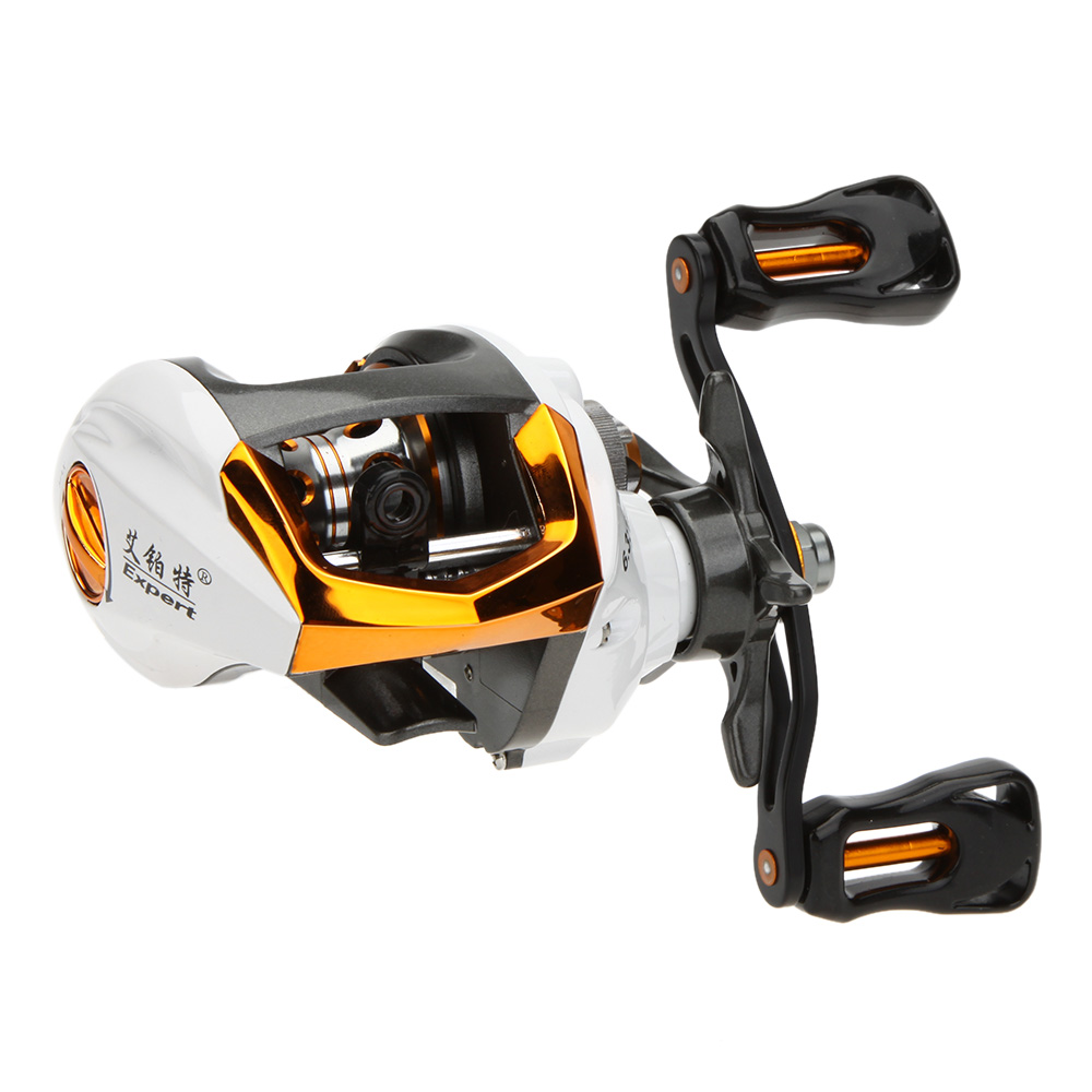 High quality bait casting fishing reel 12 1 ball bearings for How to reel in a fish