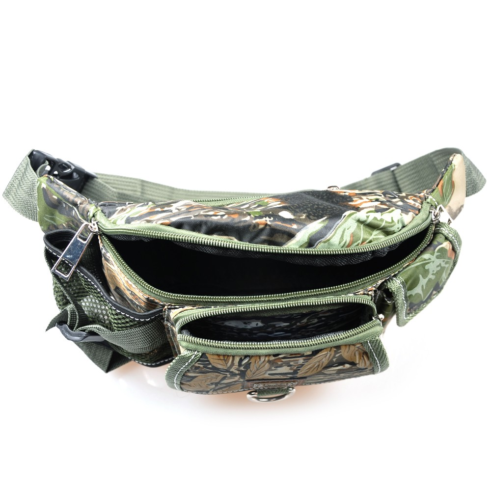 Fishing waist bag multifunctional outdoor fishing tackle bag for Fishing waist pack