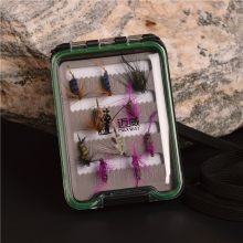 Fly Fishing combo set includes fishing rod, reel, lures, lines, tackle box