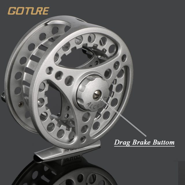 Fly Fishing Reels |  Aluminium Frame Fly Reels  5/6 7/8 WT