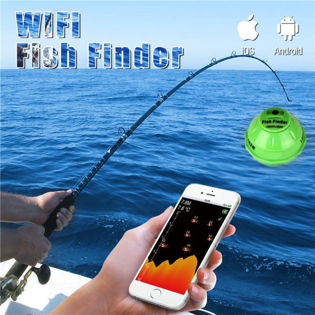 WIFI Fish Finder | Wireless Fish Finder with Mobile Apps