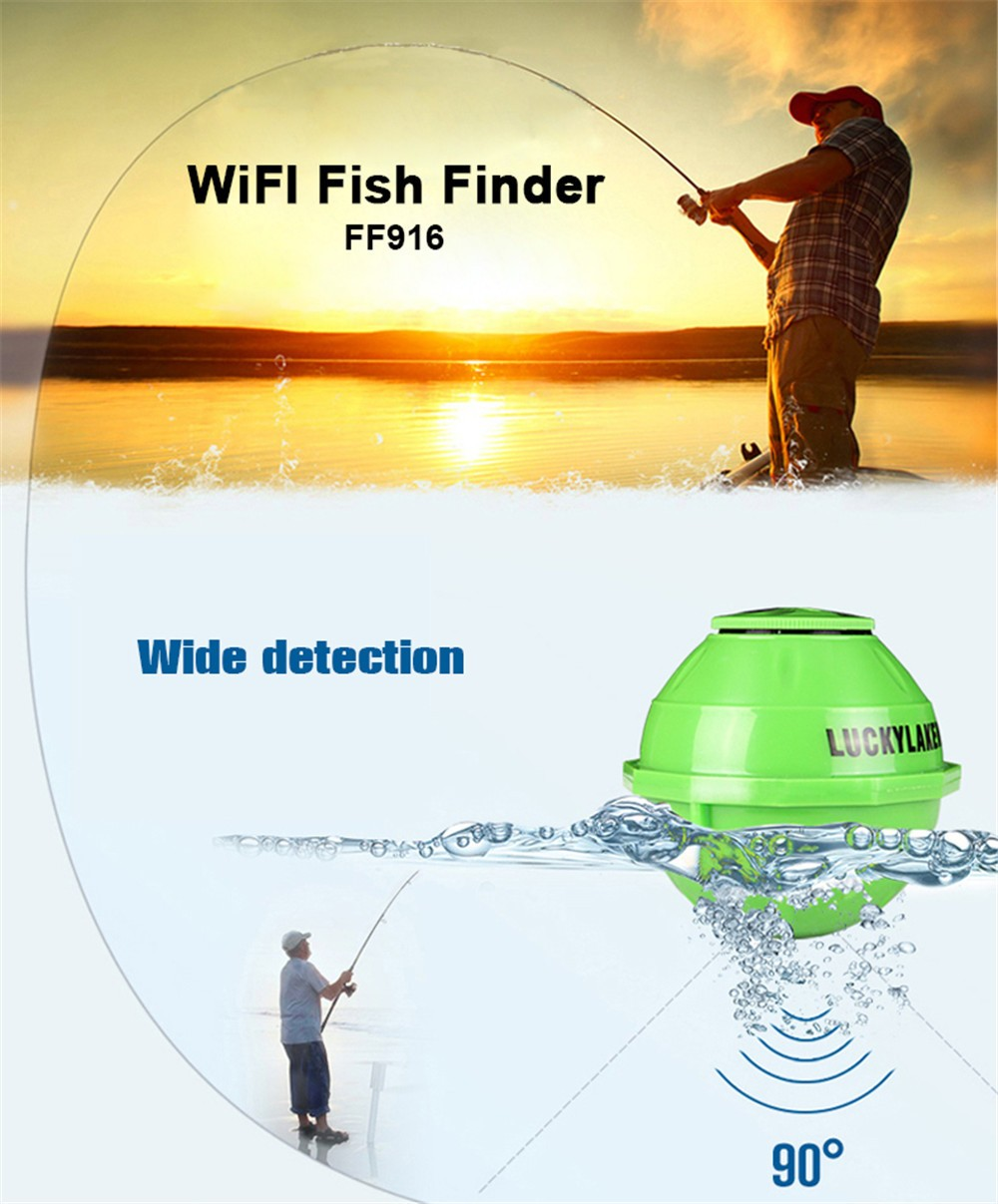 Wifi fish finder wireless fish finder with mobile apps for Wifi fish finder