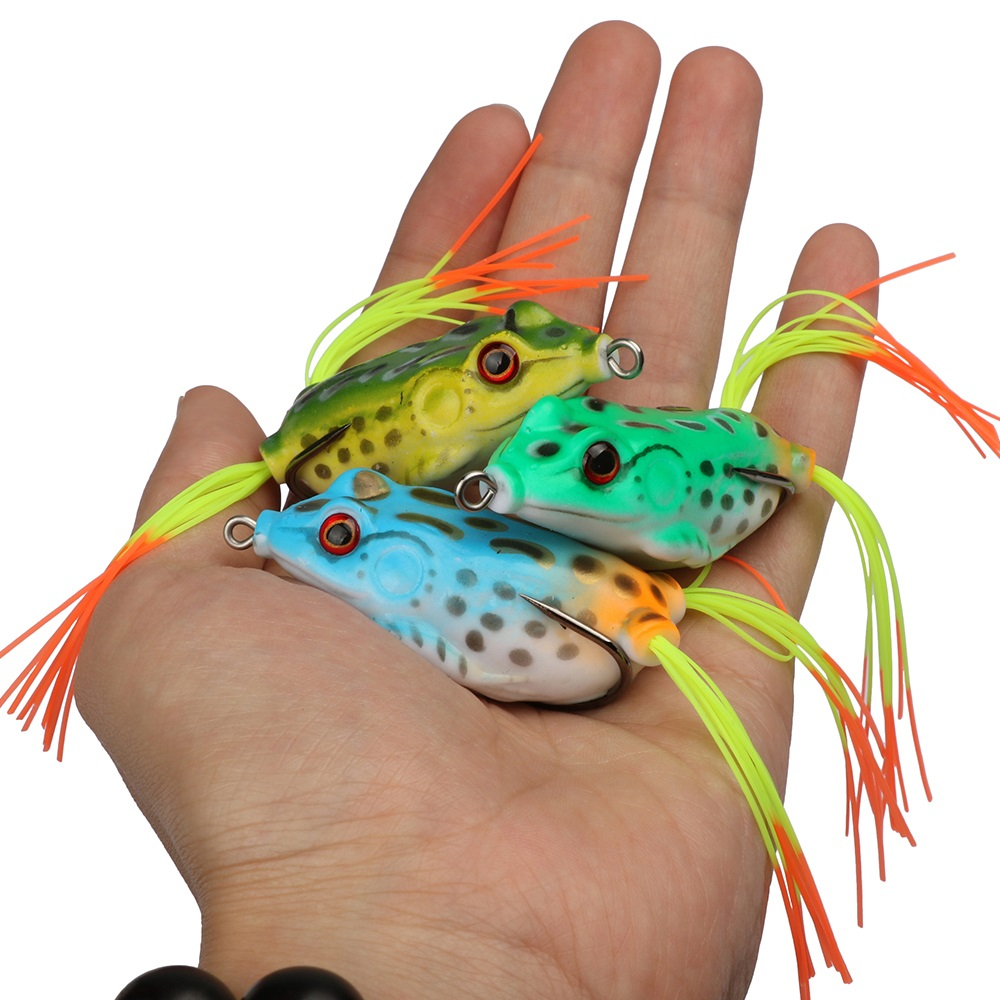 Soft Plastic Lure | Frog Fishing Lure - 9 or 18 pcs
