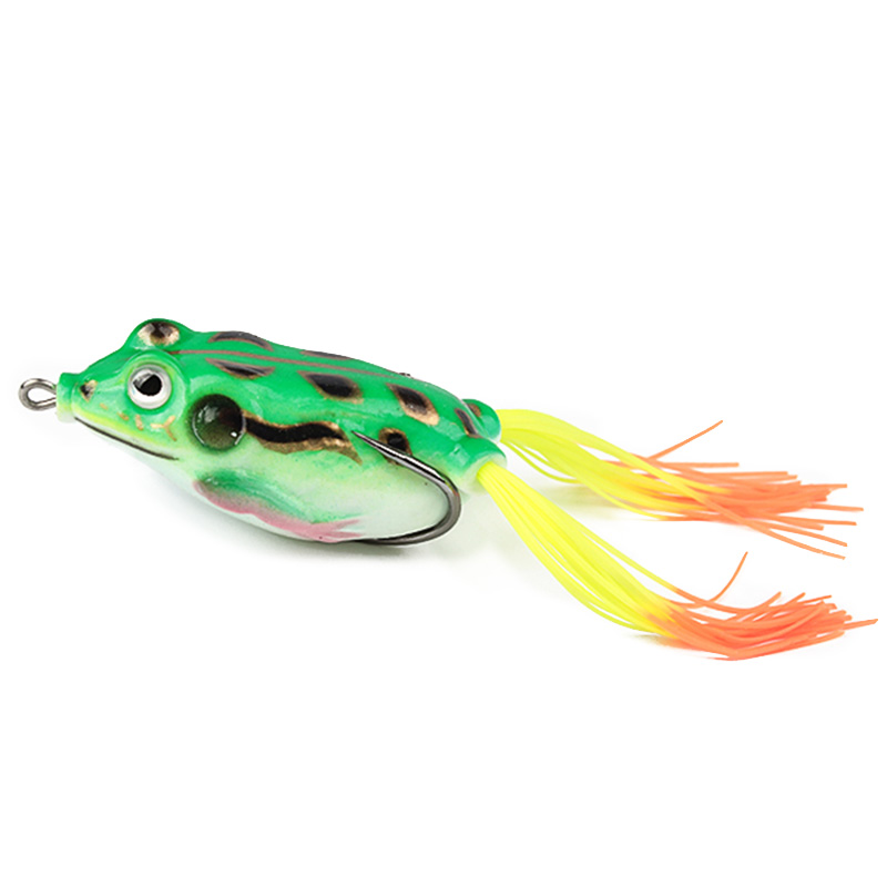 Soft plastic lure frog fishing lure 9 or 18 pcs for Frogs for fishing