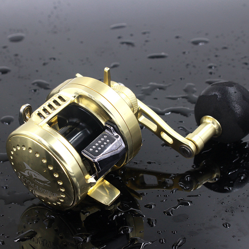 Baitcasting saltwater fishing reel rover drum bait for Baitcasting fishing reel