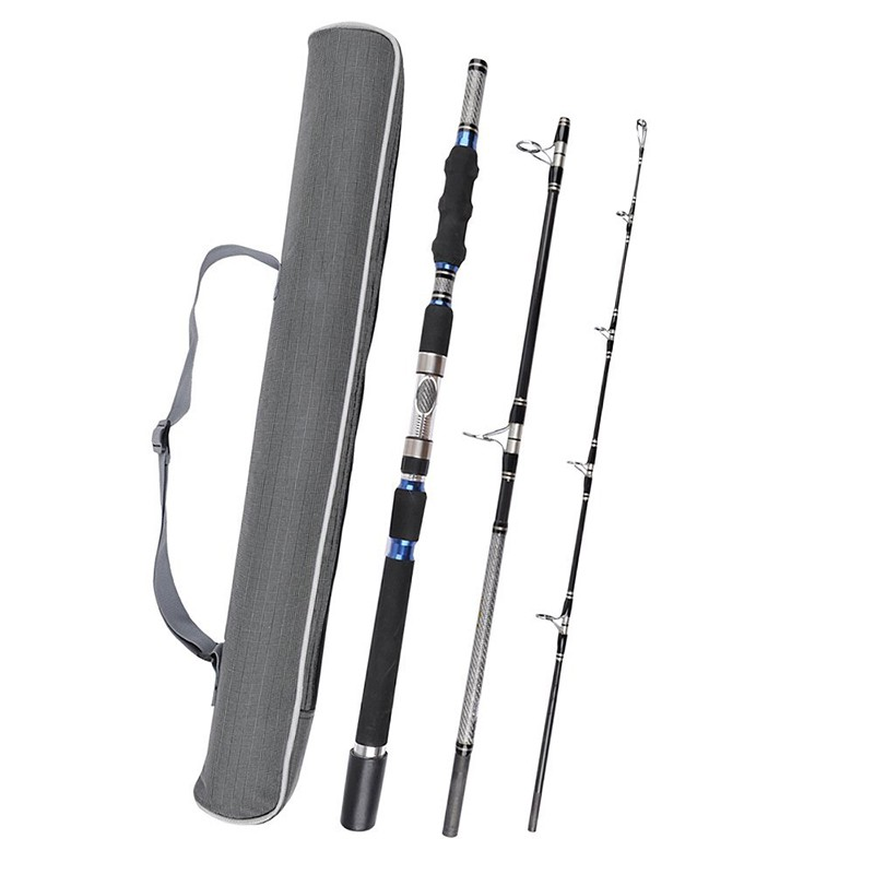 Spinning fishing rod heavy duty fishing rod up to 50 lbs for Heavy duty fishing rods