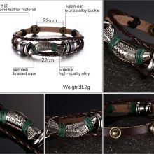 Leather bracelets for fisherman | Cool Design Fishing Bracelets