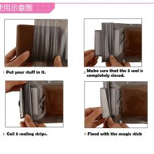 Clear Waterproof Pouch   Mobile phone, money clear bag