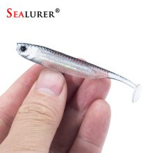 Soft Fishing Lure Minnow 6pcs