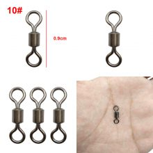 Fishing Swivels Line Hook Connector with free tackle box – Approx 500 pcs