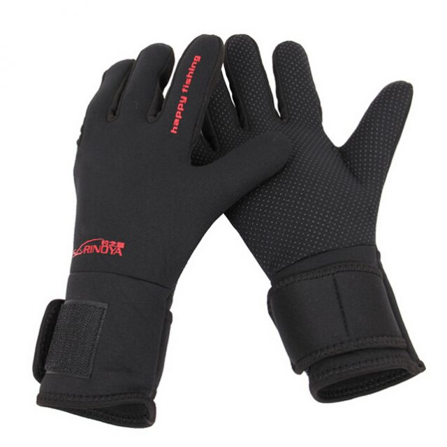 Ice Fishing Gloves | Waterproof anti slip fishing gloves