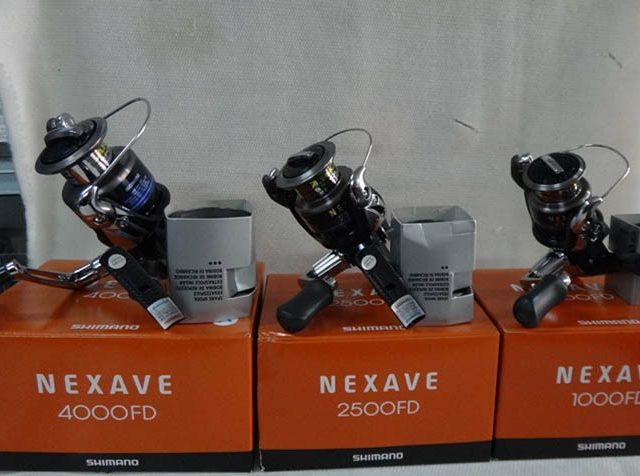 Shimano NEXAVE fishing reel with spare spool  | 100% Original Shimano Reel