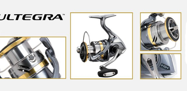 Fishing Reel Shimano ULTEGRA | 100% Genuine Shimano Spinning Reels