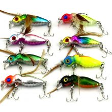 Artificial Float Baits – Crankbait Flies – 8pcs