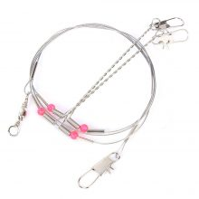 Stainless Steel Leader Line Rigs-5pcs | Use it for catfish, carp and others