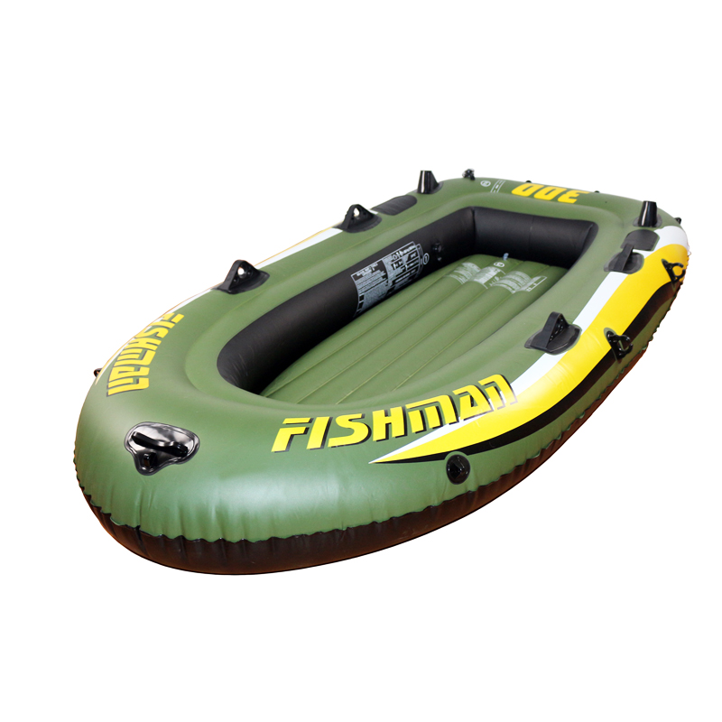 Inflatable boat fishing 3 person 252 x125 x 40 cm for 3 person fishing boat