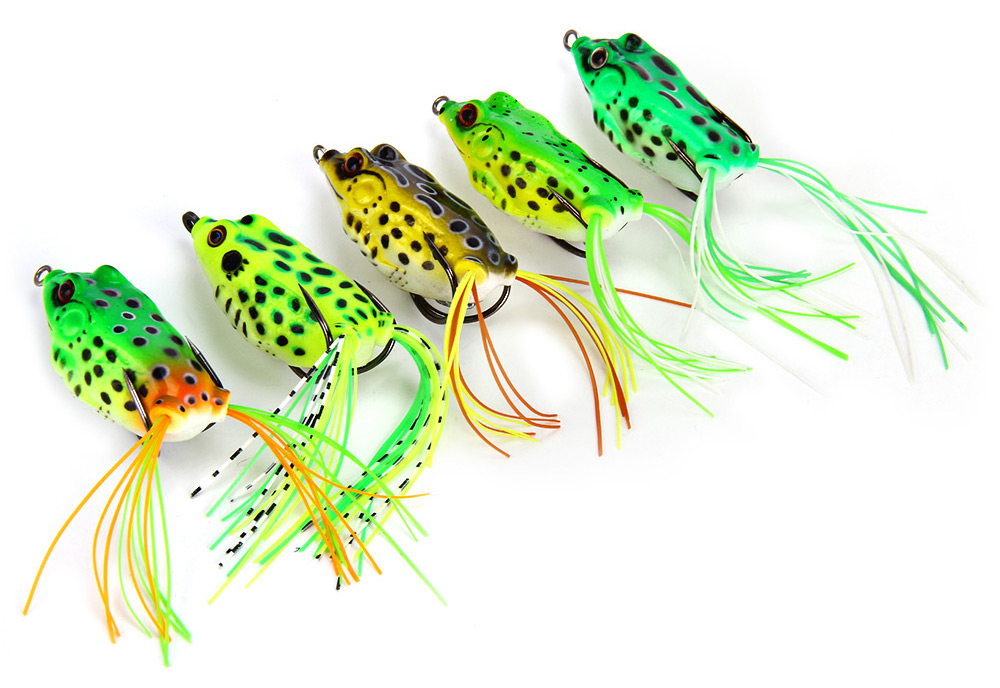 Soft Plastic Fishing Lures frog lures