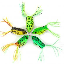 Soft Plastic Frog Fishing Lures – 5/10 Pcs