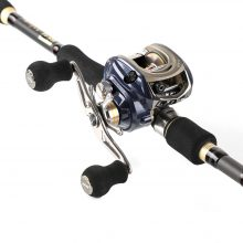 Casting Telescopic Fishing Rod and Reel Combo