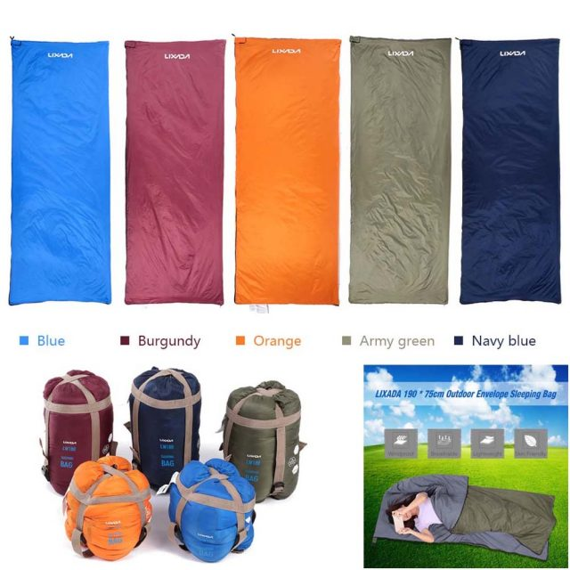 Sleeping Bag – Portable Camping Sleeping Bag – Ultralight Multicolor  Multifunction