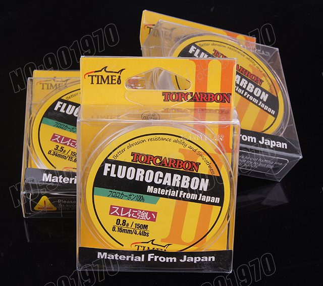Fluorocarbon Fishing Line Transparent White Color – Japanese Technology