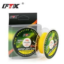 FISH KING 20M PE Braided Fishing Line Ice Fishing  4 stands 8LB- 28LB Multifilament Fishing Line