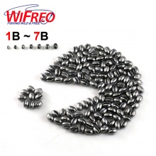 100PCS 1B to 7B Premium Split Shot Lead Fishing Sinker Weight Combo With Box for Option Fishing Accessories for Fly Carp [PZ001]